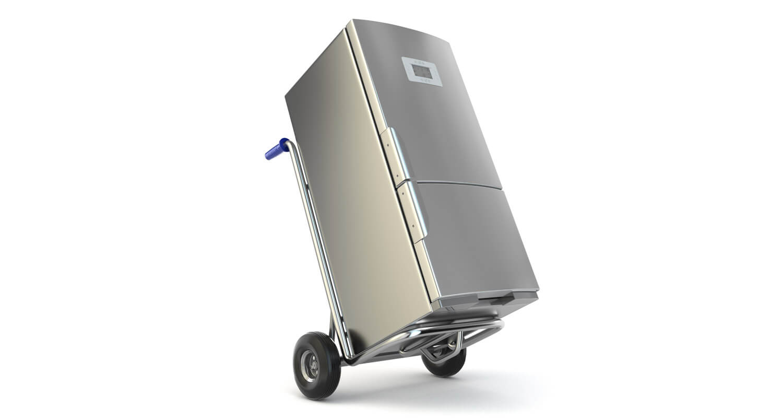 so wird ein k hlschrank richtig und sicher transportiert frachtmeister. Black Bedroom Furniture Sets. Home Design Ideas