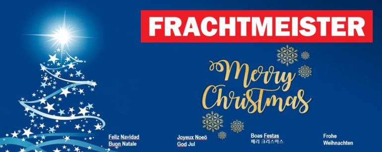 Merry Christmas and a Happy New Year 2019 | Frachtmeister